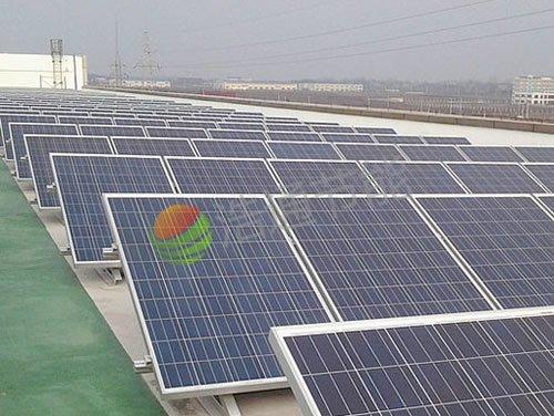 深圳尚模地产80KW太阳能光伏发电项目