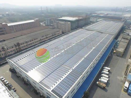 深圳罗湖区鸿烨集团厂区50KW太阳能光伏发电项目