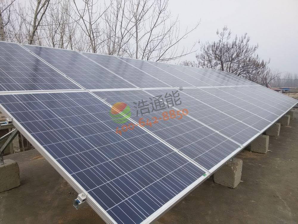 广州市横江村委会旁刘总自建房-5KW屋顶太阳能光伏发电项目