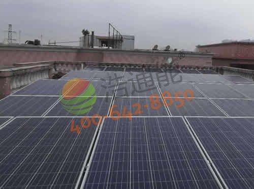 东莞市东城区塘边头一街13巷吴总自建房14kw太阳能光伏发电项目