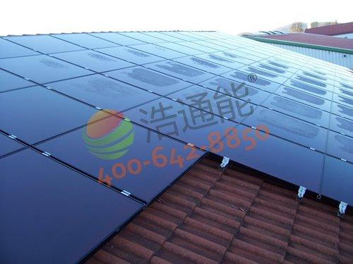 深圳市南山西丽阳光工业园钟先生自建房13kw屋顶光伏发电项目