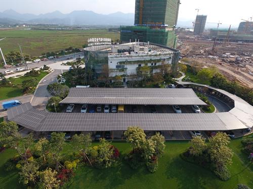 惠州碧桂圆潼湖科技小镇产业发展中心205.56KW太阳能光伏发电项目