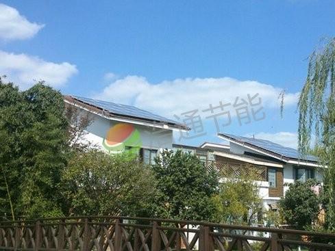别墅4KW屋顶太阳能光伏发电系统