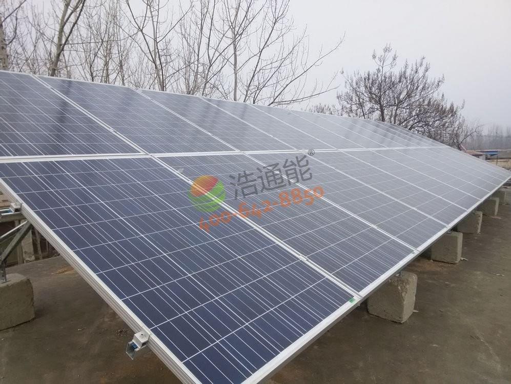 自建房-5KW屋顶太阳能光伏发电项目