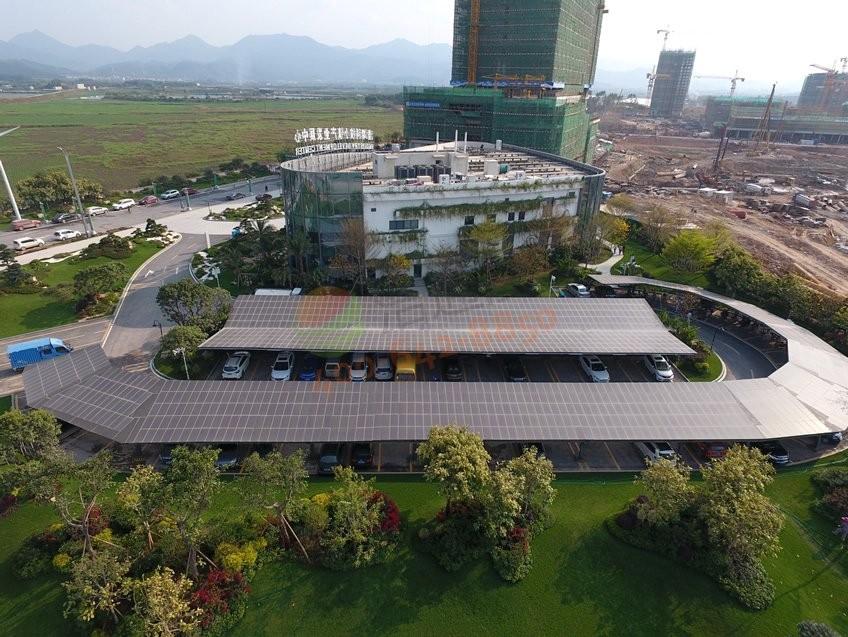 科技小镇205.56KW太阳能光伏发电项目