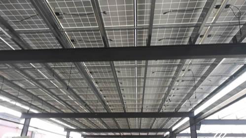 喜讯:浩通与石排年瑞电子合作270.54KW工厂太阳能光伏发电站